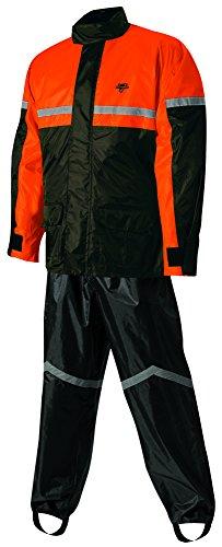 Nelson-Rigg Stormrider Rain Suit BlackOrange Large