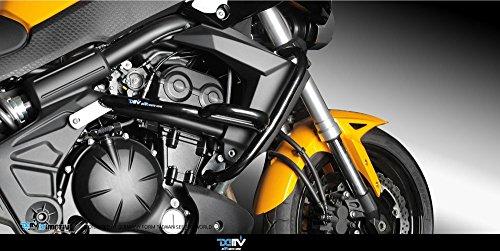 Dimotiv Engine Guard For Kawasaki Versys 650 2007-2014 (painted Black)