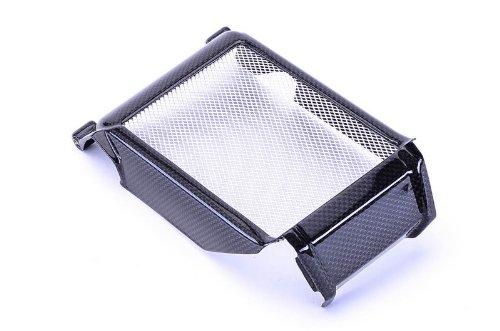 Bestem CBDU-696-RDC Black Carbon Fiber Center Radiator Cover for Ducati Monster 696 796 1100