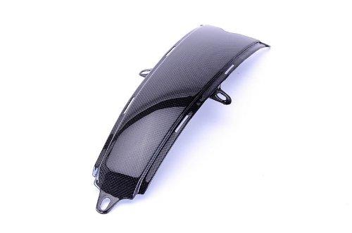 Bestem CBDU-696-TPD Black Carbon Fiber Tank Pad Cover for Ducati Monster 696 796 1100
