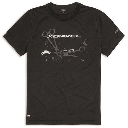 Ducati Diavel Iron Dream Short Sleeve T-Shirt Black X-Large
