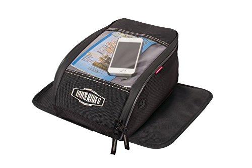 Dowco 50130-00 Iron Rider Magnet Mount Tank Bag Black