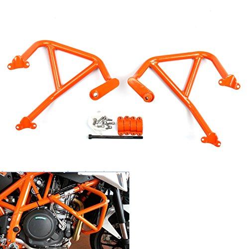 Areyourshop Engine Guard Crash Bar Protection For KTM DUKE 690 2013-2015 2014 Orange