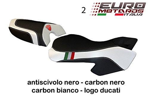 Ducati Multistrada 620 1000 1100 Tappezzeria Sciacca Tricolore Seat Cover New