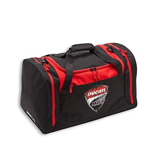 Ducati Corse Sketch Logo Gym Luggage Bag Black Red 987697802