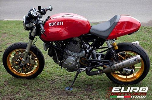 Ducati GT 1000 Zard Exhaust Steel Silencers Snake Welding Mufflers