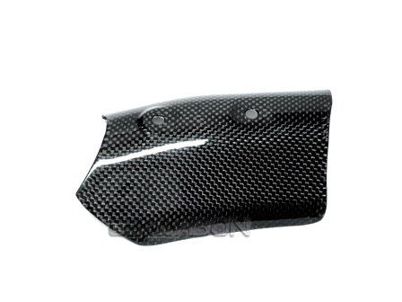 2007-2012 Ducati 1198 1098 848 Carbon Fiber Upper Heat Shield
