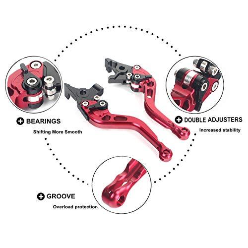 TARAZON CNC Adjustable Brake Clutch levers for Ducati 749 999 1098 1198 S R  848 STREETFIGHTER S EVO899 1199 1299 PANIGALEDiavelCarbonMonster 1200Multistrada 1200 S