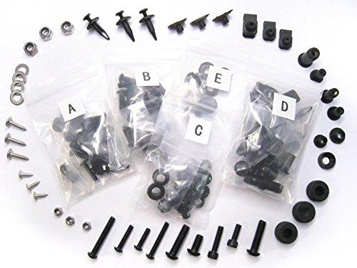Moto-777 Complete Black Bolt Kit Body Screws for Ducati 1098 848 1198 S R EVO