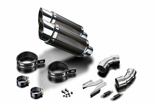 Ducati Monster 696 8 Mini Carbon Round Muffler Exhaust 08 09 10 11 12 13 14