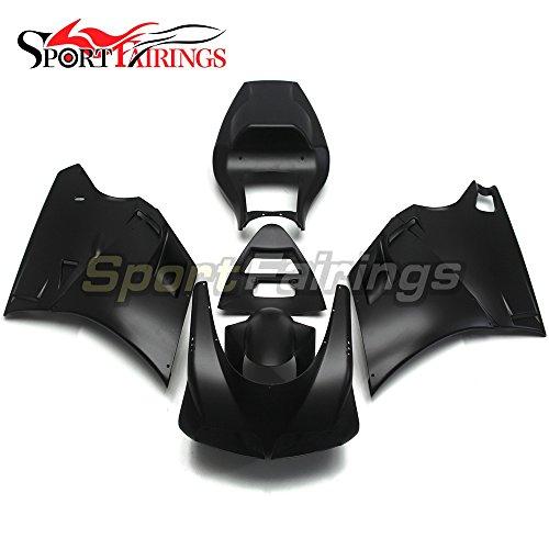 Sportfairings Motorbike Injection ABS Plastic Fairing Kits For DUCATI 996 748 916 998 Monoposto 19961997 1998 1999 2000 2001 2002 Matte Black Bodywork