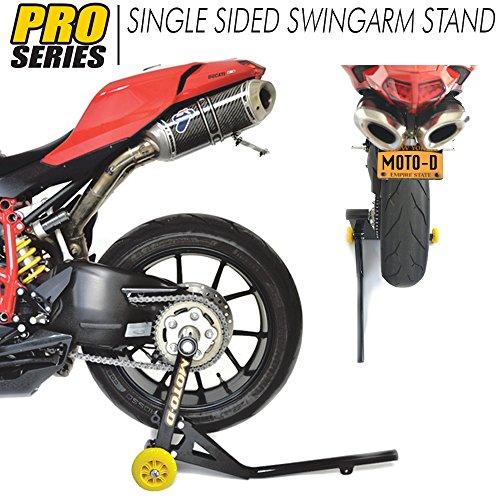 MOTO-D Ducati Panigale 1199  1299 Single Sided Swingarm Rear Stand 405MM