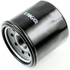Black Spin-On Oil Filter for Ducati 796 Hypermotard 2010-2012
