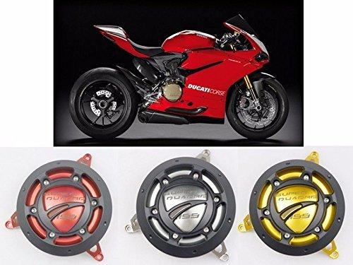 CNC Aluminium Engine Case Crash Guard Cover for 2012-2015 Ducati 1199 Panigale Red