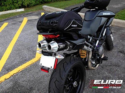 Ducati Hypermotard 796 1100 Evo Zard Exhaust Top Gun Carbon Silencers Mufflers