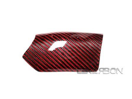 2007 - 2012 Ducati 1198 1098 848 Carbon Fiber Upper Heat Shield - Red