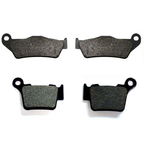 2008-2009 KTM 530 EXC-R Kevlar Carbon Front Rear Brake Pads