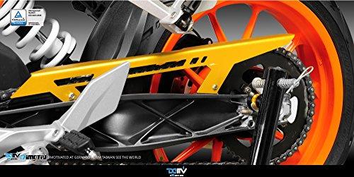 Dimotiv Chain Guard Cover For KTM DUKE 390 2013-15 DUKE 200 2011-15 DUKE 125 2011-15GOLD