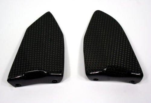 Ducati Carbon Fiber Pillion Footpeg Heel Guard 749 999