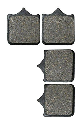 CNBK Front Left Brake Shoe Pads Resin fit DUCATI Street Bike S2RS 998 06 07 08 09 10 11 12 13 14 15 2006 2007 2008 2009 2010 2011 2012 2013 2014 2015 2 Pair4 Pads