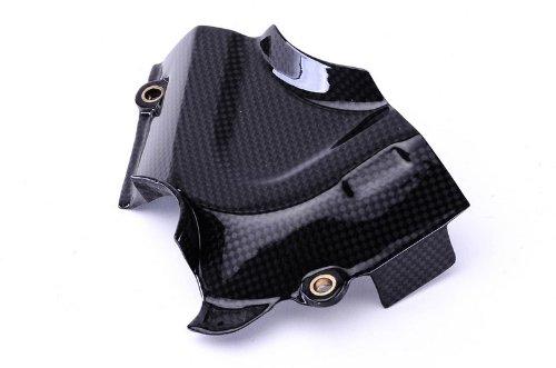 Bestem CBDU-MUL12-SPC Black Carbon Fiber Sprocket Cover for Ducati Multistrada 1200 2010 – 2013