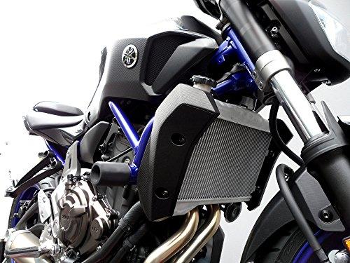 Shogun Motorsports 750-6419 No Cut Black Frame Sliders Yamaha FZ07 15-16