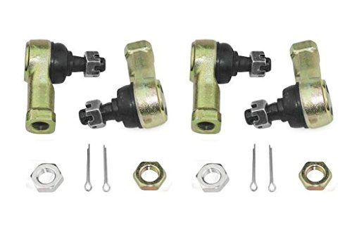 New QuadBoss Tie Rod Ends Kit Set of 4 - 2005-2008 Kymco MXU 150 ATV