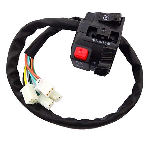 TC-Motor 11 Wire 4 Function ATV Handle Switch Control Assembly Assy For Quad 4 Wheeler 50cc 70cc 90cc 110cc 125cc 140cc 150cc 200cc 250cc
