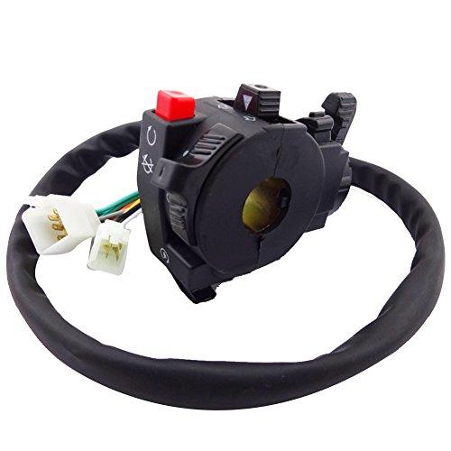 TC-Motor Handle Control Switch With Choke Lever 13 Wire 5 Function For Quad ATV Taotao Sunl Roketa Kazuma 110cc 125cc 150cc 200cc 250cc
