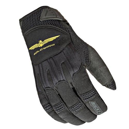 Joe Rocket Women's Goldwing Skyline Mesh Gloves - Small/black/black