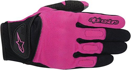 New Alpinestars Stella Spartan Womens Spandex/mesh Gloves, Black/rose Violet, Small/sm
