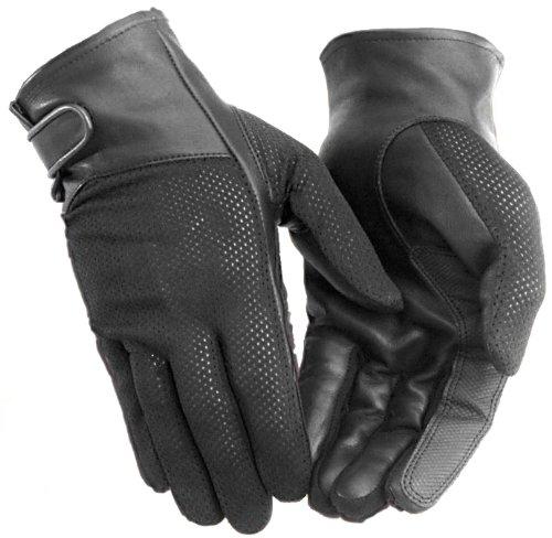 River Road Women's Pecos Mesh Gloves (medium) (black)