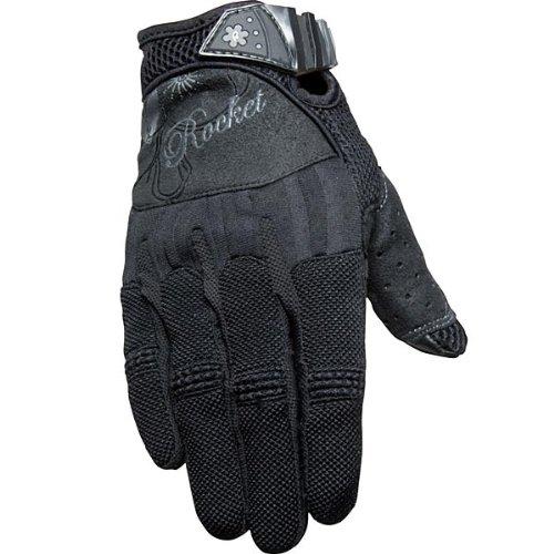 Joe Rocket Heartbreaker Women's Textile Street Motorcycle Gloves - Black/black / Medium