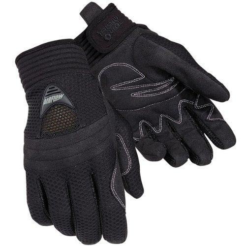 Tour Master Airflow Women's Textile On-road Motorcycle Gloves - Black / Large