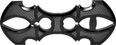 Precision Billet Assassin Rider Billet Floorboards - Black HD-ASN-FLOOR-B
