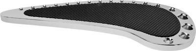 Precision Billet Tear Drop Passenger Billet Floorboards - Chrome HD-TEAR-FLOORP