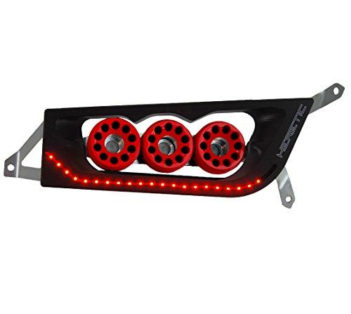 2017 RZR S 900 LED Billet Headlights