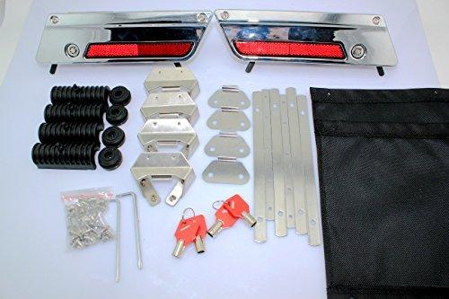 Hunter Bike Hard Bags Saddlebag Latch Hardware Hinges Kit For Harley Davidsontouring Models