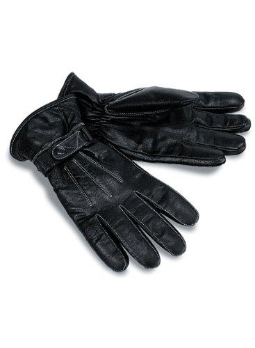 Milwaukee Motorcycle Clothing Company Motorcycle Leather Riding Gloves (black, Medium)