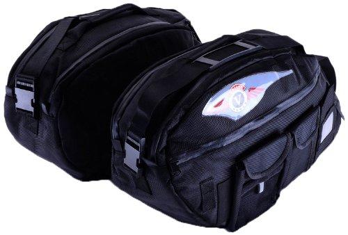 Bestem Lgka-nomad-sdl-d Black Deluxe Saddlebag Liners For Kawasaki Vulcan Nomad, Pair