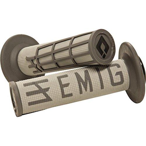 ODI Light GreyGrey ODI V2 Jeff Emig 2 Stroke Lock On MX Grips