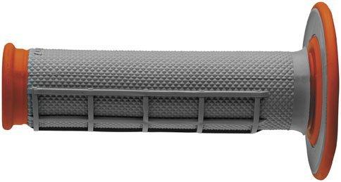 Renthal Dual Compound MX Grips-Orange