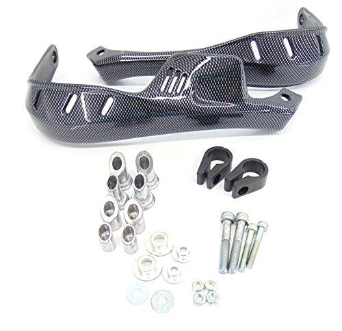 Carbon Dirt Bike Motocross Handguards 78 Bar Kawasaki KLX 250 300 400 650