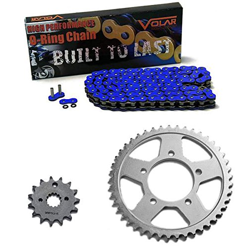 1996-2003 Suzuki Bandit 600 GSF600S O-Ring Chain and Sprocket Kit Blue