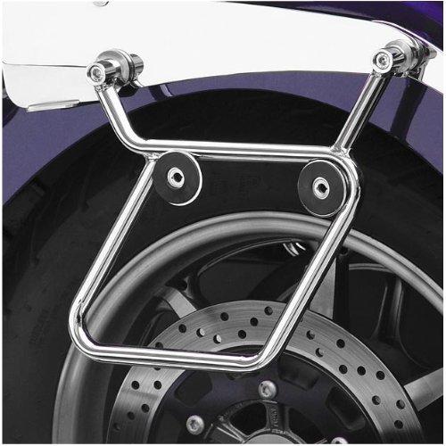 National Cycle Cruiseliner Hard Saddlebags Chrome Mount Kit For 2002-2006 Honda - One Size