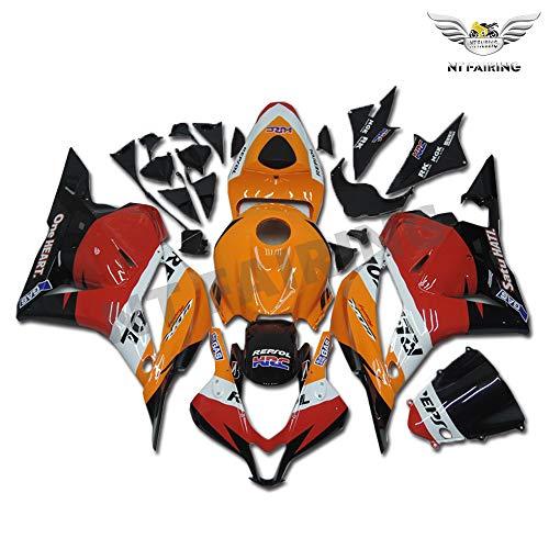 New Orange Repsol Fairing Fit for HONDA 2009 2010 2011 2012 CBR600RR Injection Mold ABS Plastics New Bodywork Bodyframe 09 10 11 12