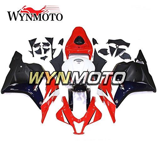 WYNMOTO Motorcycle Body Kit For Honda CBR600rr F5 2009-2012 CBR600RR 09 10 11 12 Sportbike ABS Plastic Injection White Red Dark Blue Fairings
