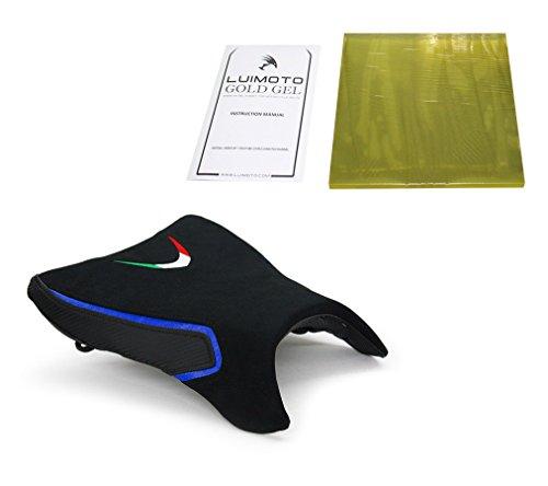 Aprilia Falco SL1000 1999-2005 Luimoto Team Italia Suede Designer Seat Cover For Rider  Gel Pad