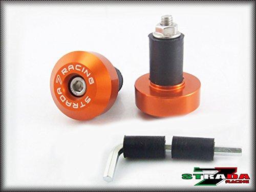 Strada 7 Racing CNC Handle Bar Ends Green For Aprilia Falco  SL1000