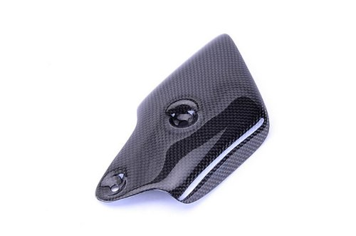 Bestem CBDU-996-EHC Black Carbon Fiber Exhaust Cover for Ducati 748 916 996 998
